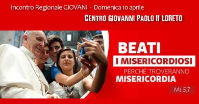 Incontro regionale Giovani a Loreto il 10 aprile