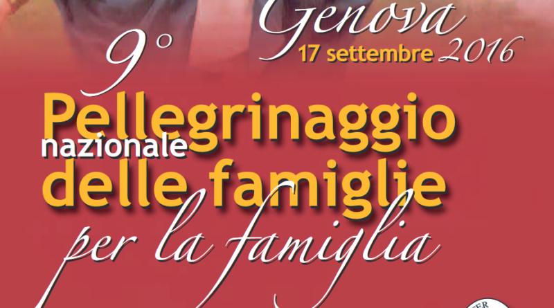 Pellegrinaggio Nazionale delle Famiglie per la Famiglia a Genova