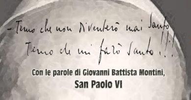 Serata di recitazione su San Paolo VI