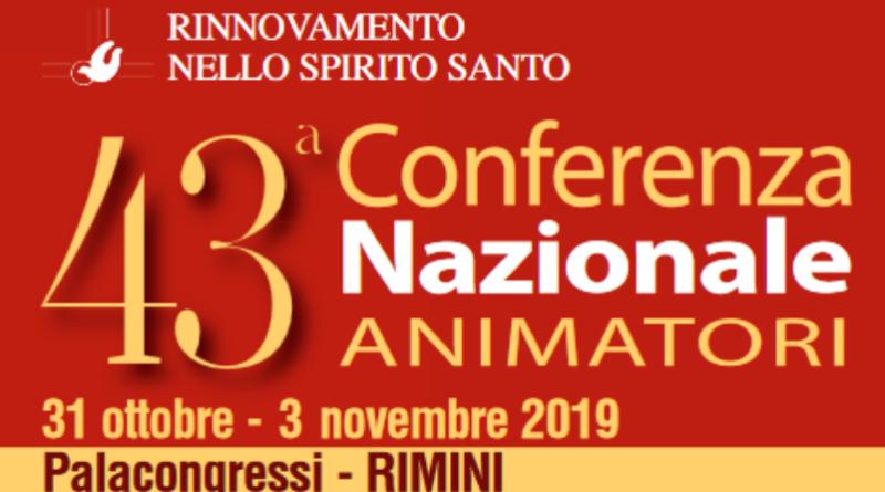 43ª Conferenza Nazionale Animatori a Rimini